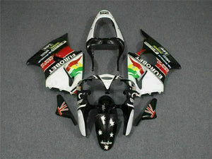 MS Fit for Kawasaki 2000-2002 ZX6R Plastic New Molding Injection Fairing ABS kt011