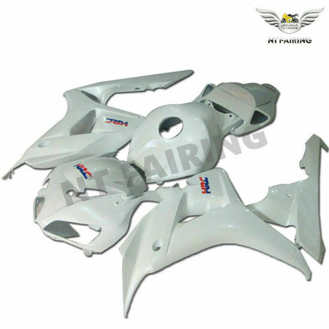 MS Injection White Mold ABS Kit Fairing Fit for Honda 2006-2007 CBR1000RR u037