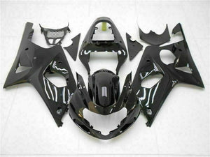 MS Injection Mold Glossy Black Fairing Fit for Suzuki 2000-2002 GSXR 1000 p021