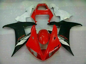 MSB Injection Mold Kit Red Plastic Fairing Fit for Yamaha 2002-2003 YZF R1 g006 Available in TX