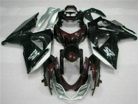 MS Injection Brown Black Fairing ABS Fit for Suzuki 2009-2016 GSXR 1000 p012