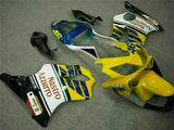 MS Yellow White Injection Fairing Kit Fit for Honda 2001-2003 CBR600 F4I u015