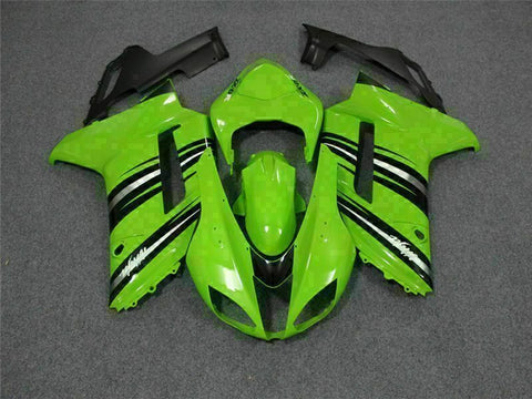 MSA Fit for Kawasaki 2007 2008 ZX6R ABS With Seat Cowl Injection Fairing t006-T
