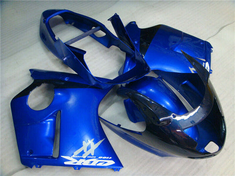 MSA Plastic Blue Injection  Fairing ABS Fit for Honda 1996-2007 CBR1100XX u015