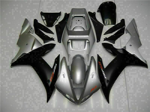 MSB Injection Mold Kit Black ABS Fairing Fit for Yamaha 2002-2003 YZF R1 j003-01