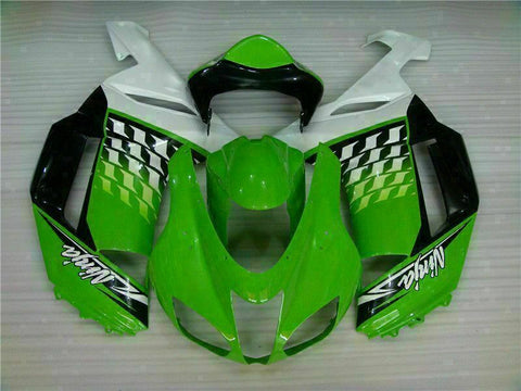 MSA Fit for Kawasaki 2007 2008 ZX6R Plastics With Seat Cowl Injection Fairing t011-T