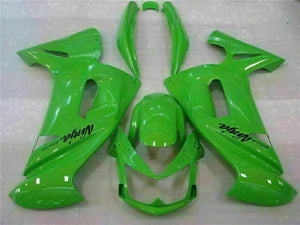 MSA Fit for Kawasaki Ninja 650R 2006-2008 ER6F ABS Green Fairing Plastics t005