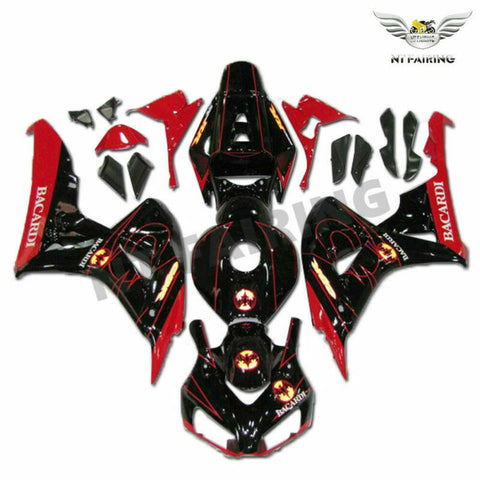 MS Injection Red Black ABS Set Fairing Fit for Honda 2006-2007 CBR1000RR u023