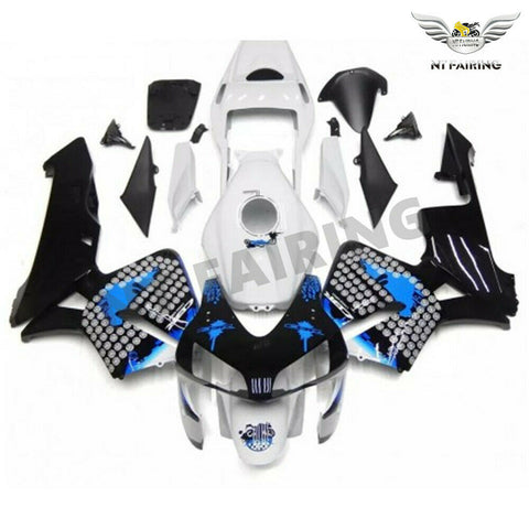 MSA Injection Mold ABS White Black Fairing Fit for Honda 2003-2004 CBR600RR u070