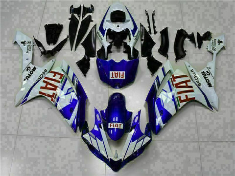 MSB Injection New Blue Plastic Fairing Fit for Yamaha 2007-2008 YZF R1 g039