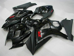 MS Injection Mold Black Fairing Kit Fit for Suzuki 2007-2008 GSXR 1000 n004