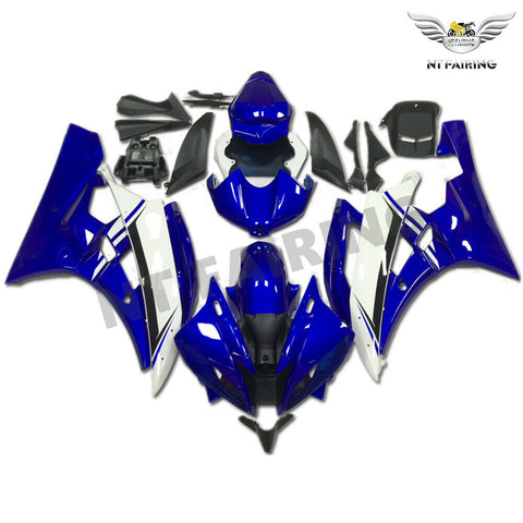 MSB Injection Mold Blue Plastic Fairing Fit for Yamaha 2006-2007  YZF R6 g003b