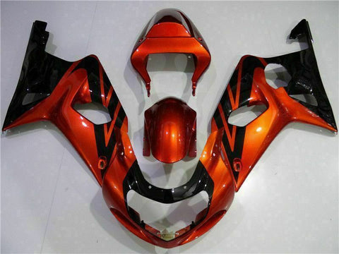 MS Injection Bown ABS Plastic Fairing Fit for Suzuki 2000-2002 GSXR 1000 r006