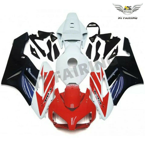 MS Injection Plastic Red Blue Fairing Kit Fit for Honda2004-2005 CBR1000RR u0114