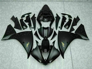 MSB Injection Black Plastic Fairing Kit Fit for Yamaha YZF R1 2009-2011 g0HG-027 Avaialble in IL