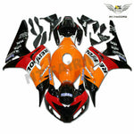 MS Injection New Orange Red Fairing Fit for Honda 2006-2007 CBR1000RR u0117