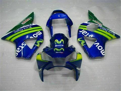 MS Injection Molding Fairing Blue Kit Fit for ABS Honda CBR954RR 2002-2003 u017