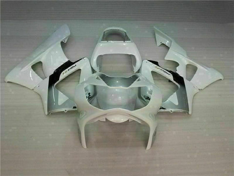 MS Injection Mold Fairing White Kit Fit for ABS Honda CBR929RR 2000-2001 u019