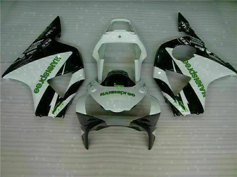 MS Injection Fairing Black White Kit Fit for ABS Honda CBR954RR 2002-2003 u015