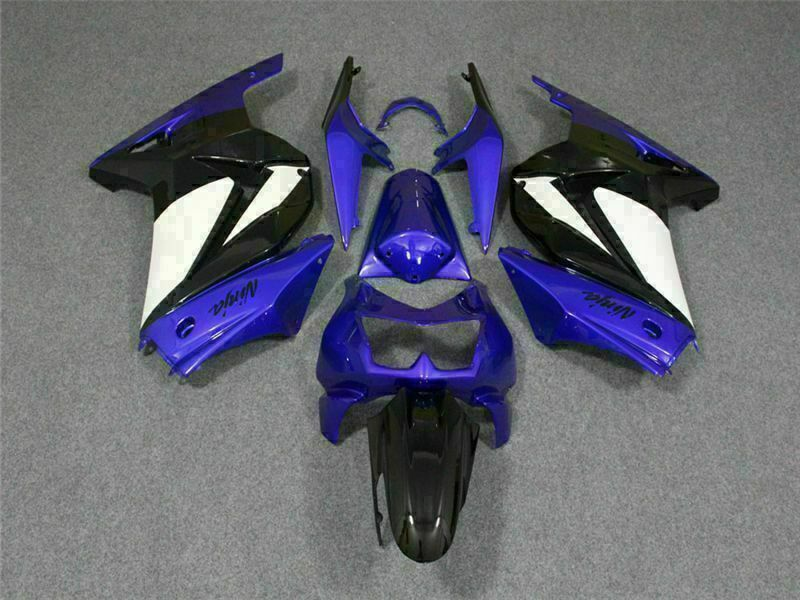 MS Fit for Kawasaki 2008-2012 EX250 250R Plastic New Injection Fairing t048-T