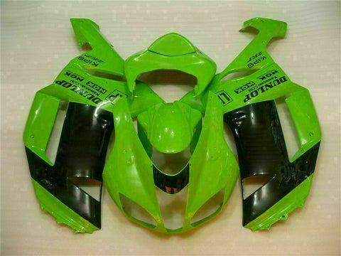 MSA Fit for Kawasaki 2007 2008 ZX6R Plastics With Seat Cowl Injection Fairing t012-T