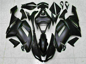 MSA Fit for Kawasaki 2007 2008 ZX6R Plastic Matte Black Injection Mold Fairing s016