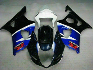 MS Injection Black Blue ABS Fairing Kit Fit for Suzuki 2003-2004 GSXR 1000 r033