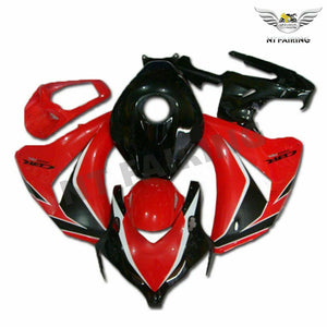 MS Injection Red Black Fairing ABS Kit Fit for Honda 2008-2011 CBR1000RR u013