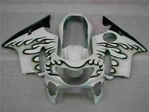 MS White Black Fairing Injection Fit for Honda 1999-2000 CBR600 F4 ABS Plastic u022
