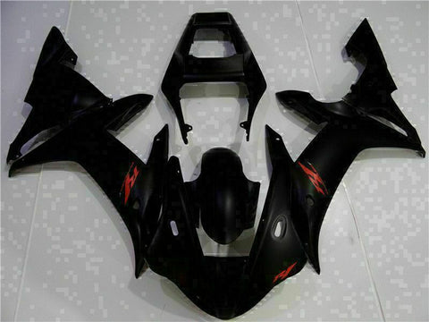 MSB Injection Mold Kit Black ABS Fairing Fit for Yamaha 2002-2003 YZF R1 g022-01