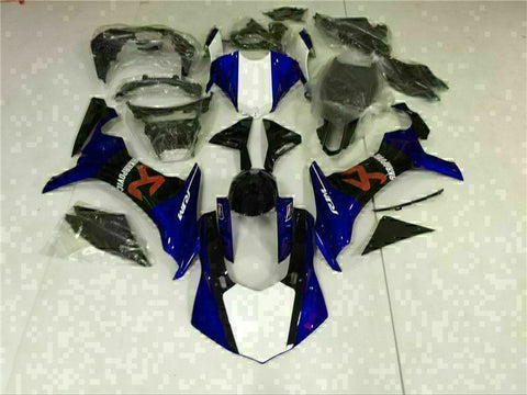 MS Injection Molding New Kit Blue ABS Fairing Fit for Yamaha 2015-2017 YZF R1 g014