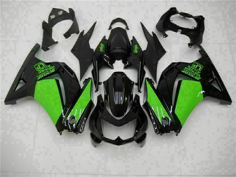 MS Fit for Kawasaki 2008-2012 EX250 250R Plastic New Injection Fairing t006-T