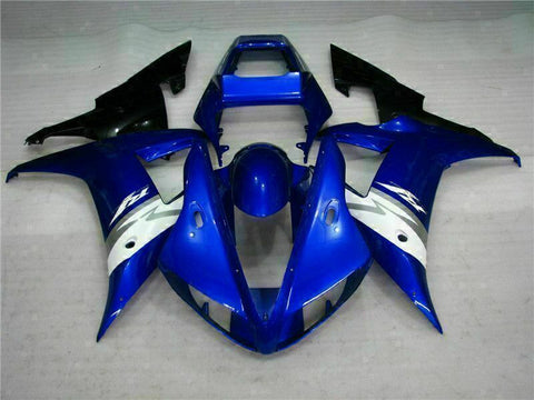 MSB Injection Mold Kit Blue ABS Fairing Fit for Yamaha 2002-2003 YZF R1 j017-01
