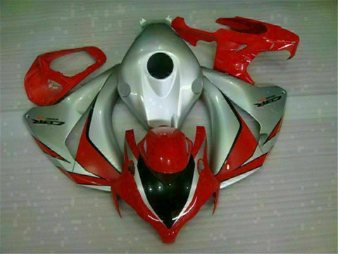 MS Injection Mold Red Silver Fairing Kit Fit for Honda 2008-2011 CBR1000RR u018