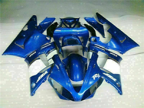 MSB Injection Mold Kit Blue ABS Fairing Fit for Yamaha 2000-2001 YZF R1 j002-02