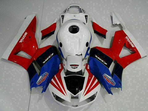 MS Injection Mold Red Blue Fairing Set Fit for Honda 2013-2018 CBR600RR u009
