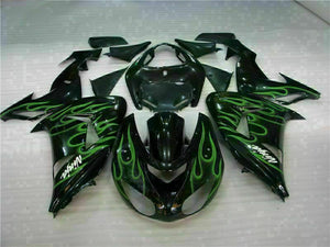 MSA Fit for Kawasaki Ninja 2006 2007 ZX10R With Seat Cowl Injection Fairing kt014