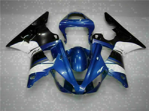 MSB Injection Mold Kit Blue Plastic Fairing Fit for Yamaha 2000-2001 YZF R1 g017