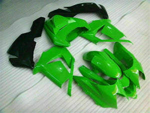 MSA Fit for Kawasaki Ninja 2004-2005 ZX10R Green New Injection Fairing  ABS t006
