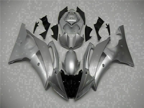 MS Injection Bodywork Silver ABS Kit Fairing Fit for Yamaha 2008-2015 YZFR6 g061
