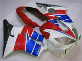 MS Injection Mold Fairing White Red Fit for ABS Honda CBR600 F4I 2004-2007 u014