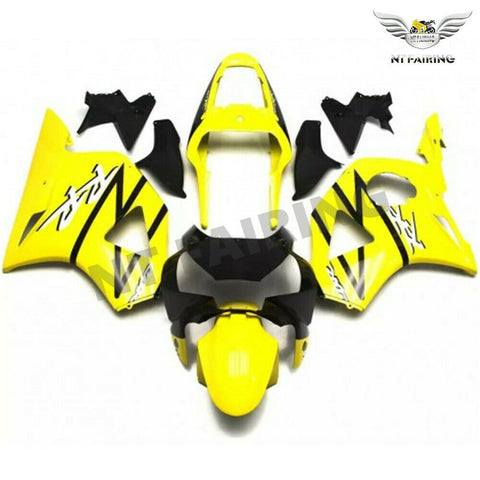 MS Injection Yellow Fairing Kit Fit for Honda 2002 2003 CBR954RR 900RR u030