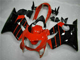 MSB Injection Fairing Red Black Fit for Honda 1999-2000 CBR600 F4 Plastic WTH u036