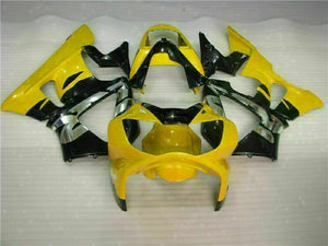MS Injection Mold Fairing Yellow Kit Fit for ABS Honda CBR929RR 2000-2001 u027