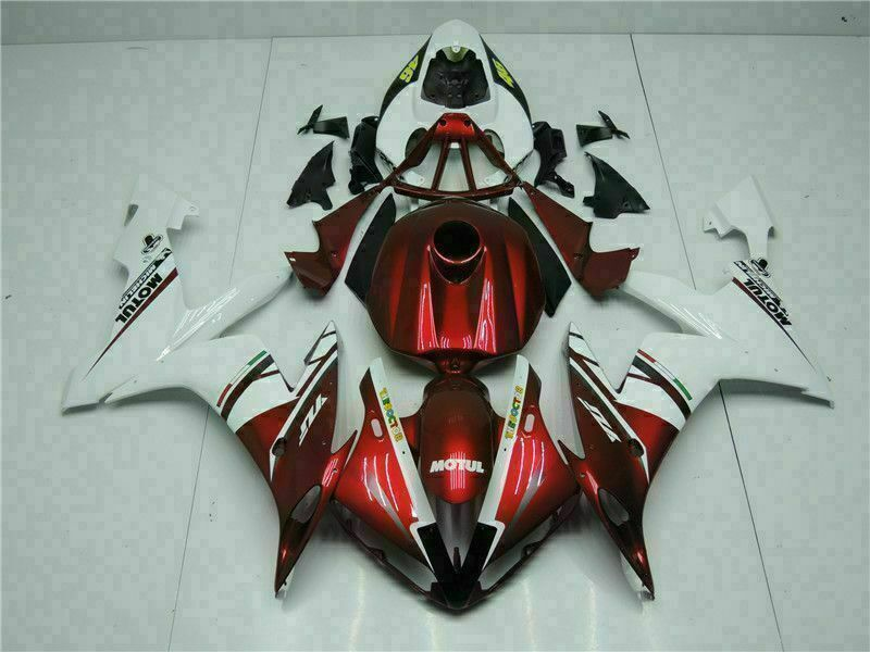 MSB Injection Red Plastic Fairing Fit for Yamaha 2004-2006 YZF R1 ABS e0-YX-003