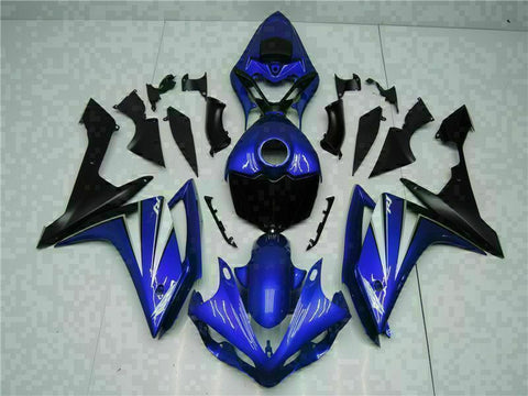 MSB Injection New Blue Plastic Fairing Fit for Yamaha 2007-2008 YZF R1 ABS g01tr