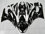 MSA Injection Fairing Fit for Kawasaki 2009-2012 ZX6R Plastic With Seat Cowls t003-T