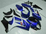 MS Injection Kit Blue New Fairing Kit Fit for Suzuki 2007-2008 GSXR 1000 r051