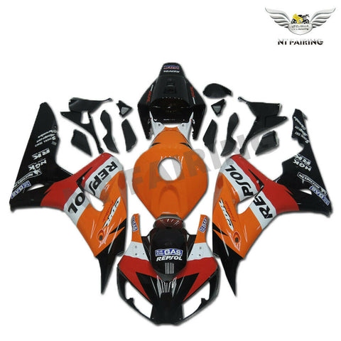 MS Injection Molded Orange Repsol Fairing Fit for Honda 2006-2007 CBR1000RR u099
