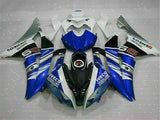 MS Injection Bodywork White Blue Fairing Fit for Yamaha 2008-2015 YZF R6 g018